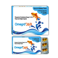 Omega 3, omega 6, omega 9 Essential Fatty Acids derived from flax seed Oil 500mg/OMEGRO-369