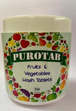 puroitab (disinfectant tablets)