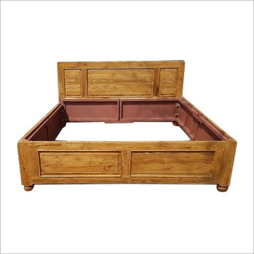 Sagwan Wooden Bed Frame