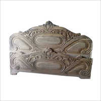 Wooden Fancy Bed Headboard