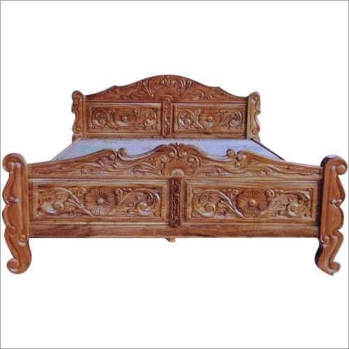 Burma Teak Wooden Bed