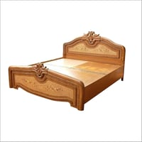 Teak Wooden Double Bed