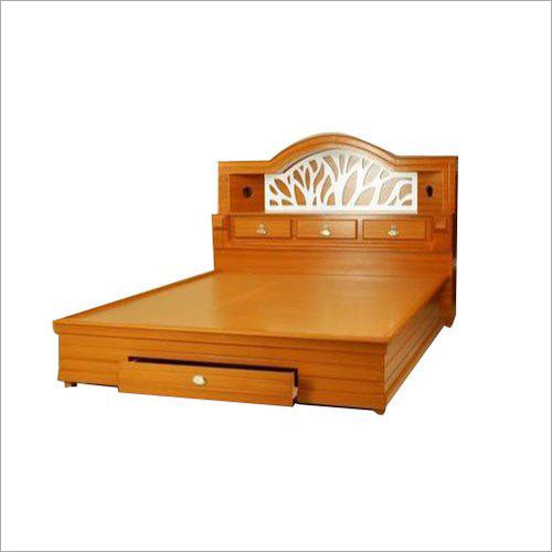 Teak Wooden Double Bed