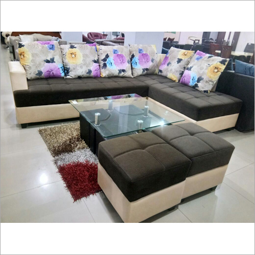 Drawing Room L Shape Sofa Set