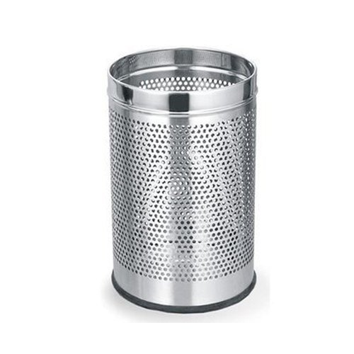 SS Open Perforated Dustbin