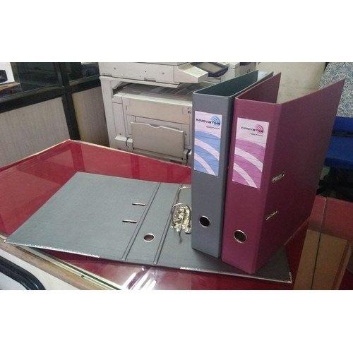 PVC Coated Plastic Box File Binder
