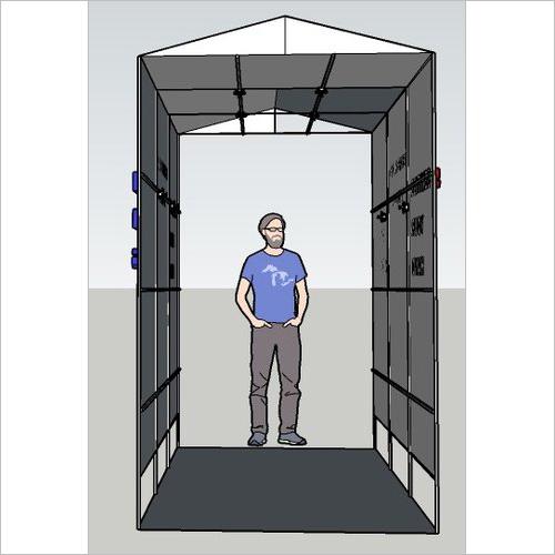 Sensitization Booth