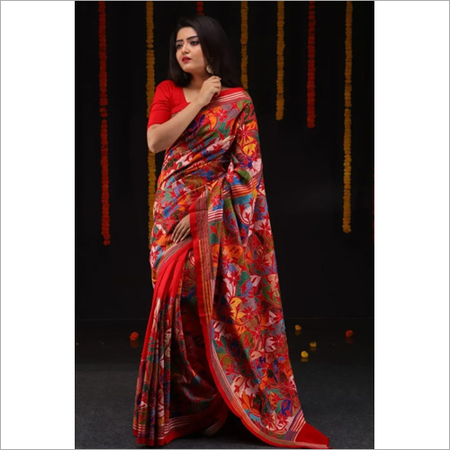 Ladies Kantha Saree
