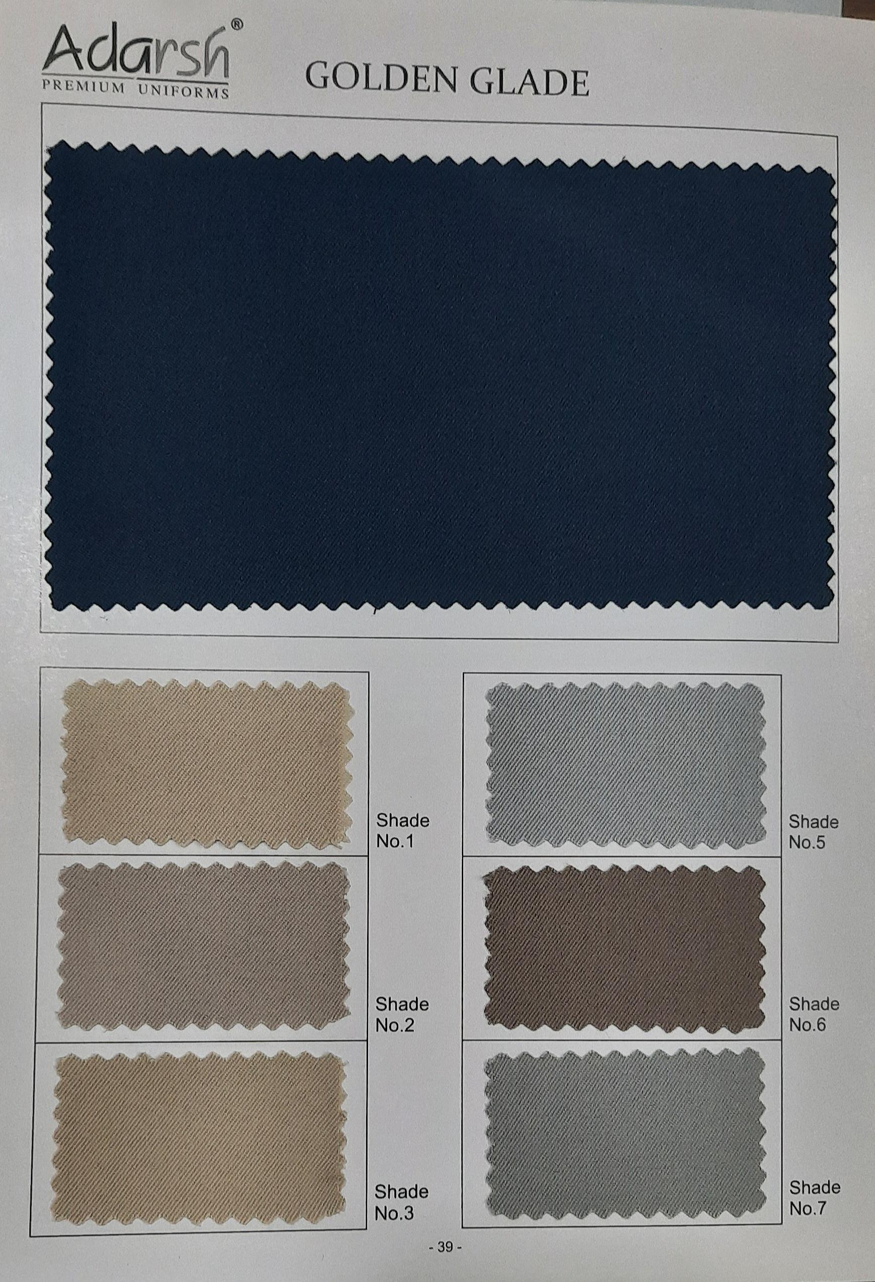 Gabardine Uniform Fabric