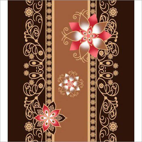 Brown Printed Mink Blanket