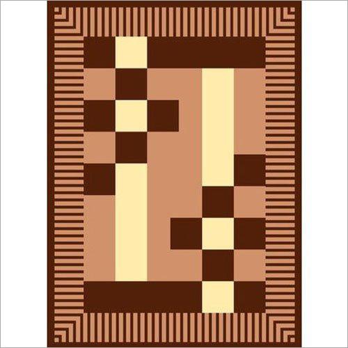 Brown Printed Polar Blanket