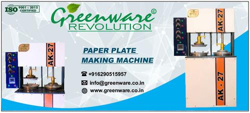 Hydraulic Piston Paper Plate Machine