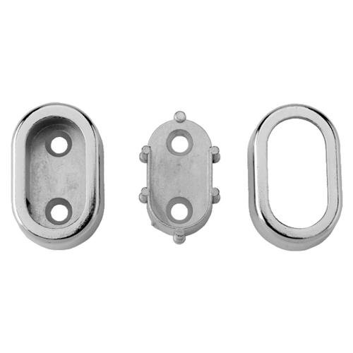 Oval Pipe Bracket (Concealed)