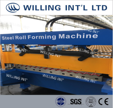 roof&wall roll forming machine
