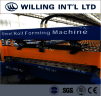 Roof & Wall Roll Forming Machine