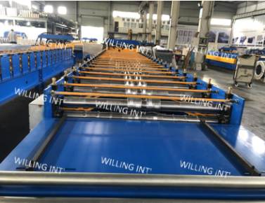 Automatic Wall Roll Forming Machine