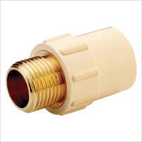 Winmax CPVC Brass Male Threaded Adapter