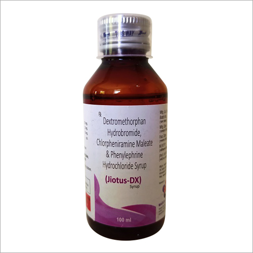 100 ml Dextromethorphan Hydrobromide Chlorpheniramine Maleate And Phenylephrine Hydrochloride Syrup
