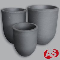 Graphite Crucibles for Aluminium Gold Silver Copper Iron Melting