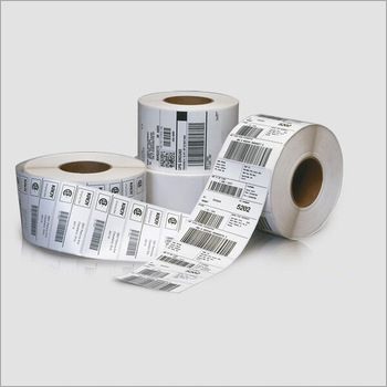 Barcode Sticker Roll