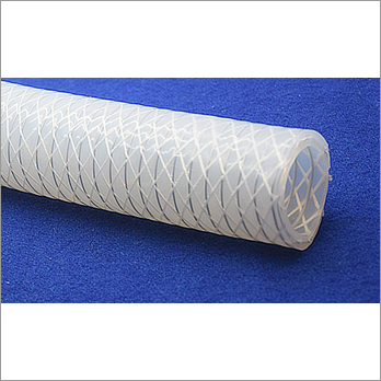 Platinum Cured Silicon Hose Tube With Polyester Braiding And Wire
