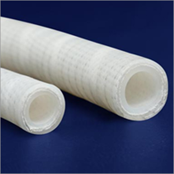 Platinum Cured Silicon Hose Tube With Polyester Fabric And Wire