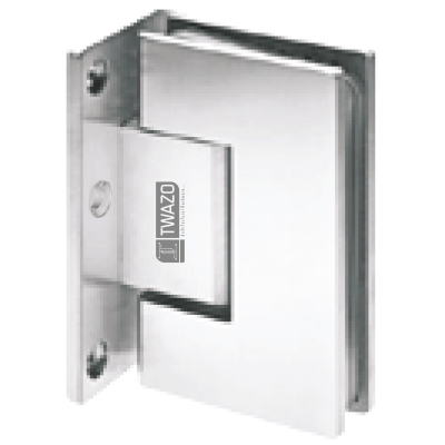 Wall to Glass 90 degree off Set Hinge