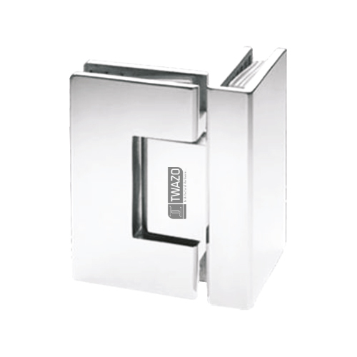 Glass to Glass 90 degree Hinge