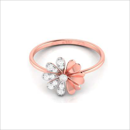 Ladies Rose Gold Ring