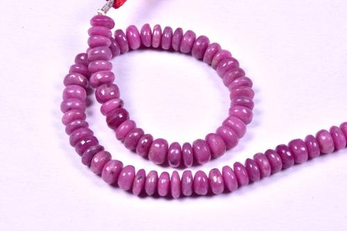 Ruby Roundel Beads
