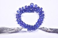 Tanzanite Drops Beads