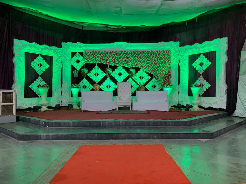 Modern Type Wedding Stage