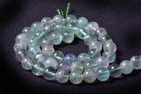 Green Fluorite Beads