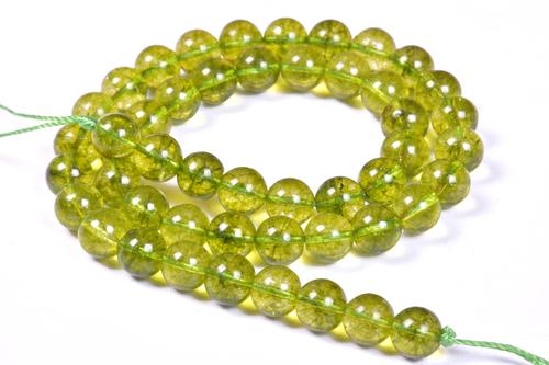 Peridot 8 MM Beads