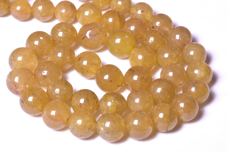 Yellow Sapphire Beads