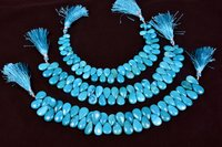 Turquoise Pears Beads