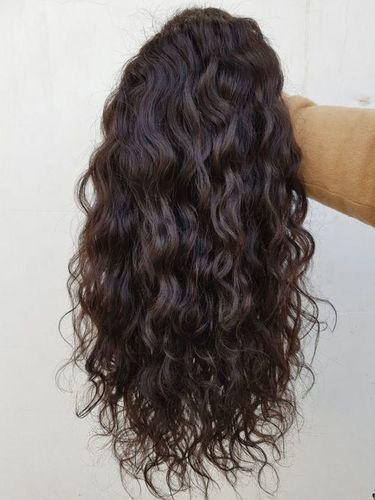 Full Lace Wig, Human Hair Wavy Human Hair