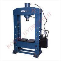 Semi Automatic Hydraulic Press Machine