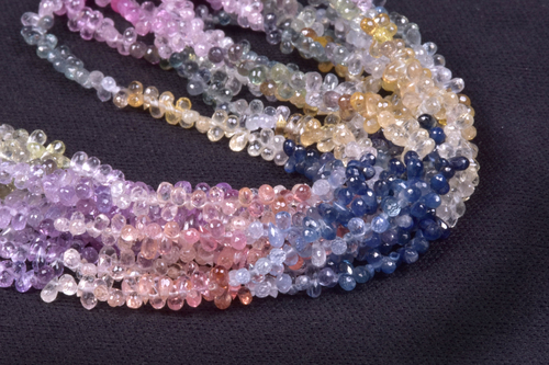 Multi Sapphire Drops Bedas