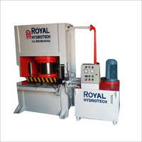 LPG Gas Stove Making Hydraulic Machine