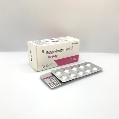 Methylprednisolone Ip 16 Mg Certifications: Gmp And Who