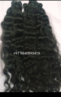 Curly Machine Weft Hair