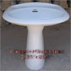 25x20 Inch Pedastal Wash Basin