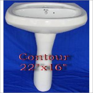 22x16 Inch Contour Wash Basin