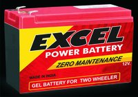 7-12 V Emergency Light Battery
