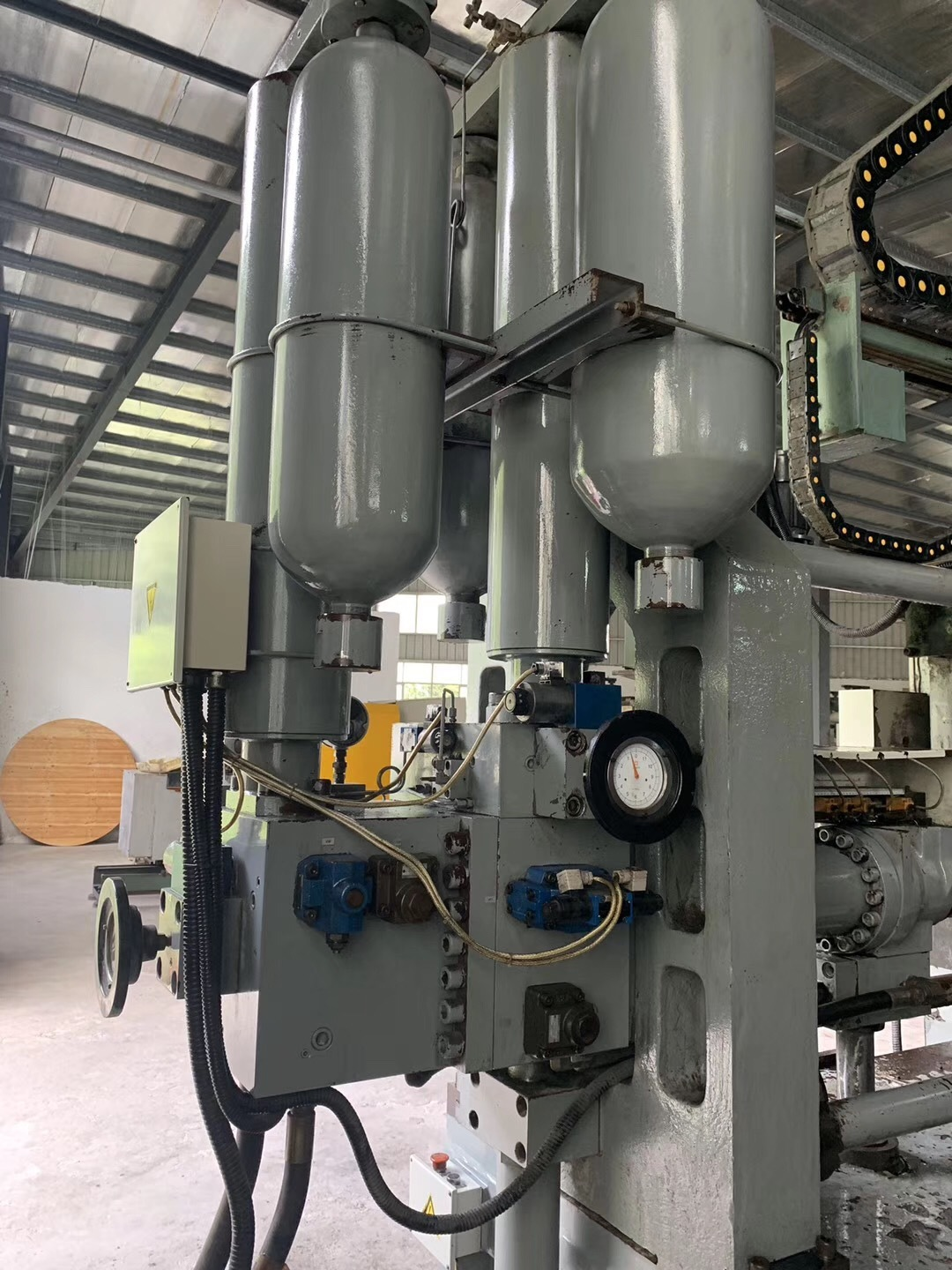 Used YIZUMI 650T Cold Chamber Die Casting Machine