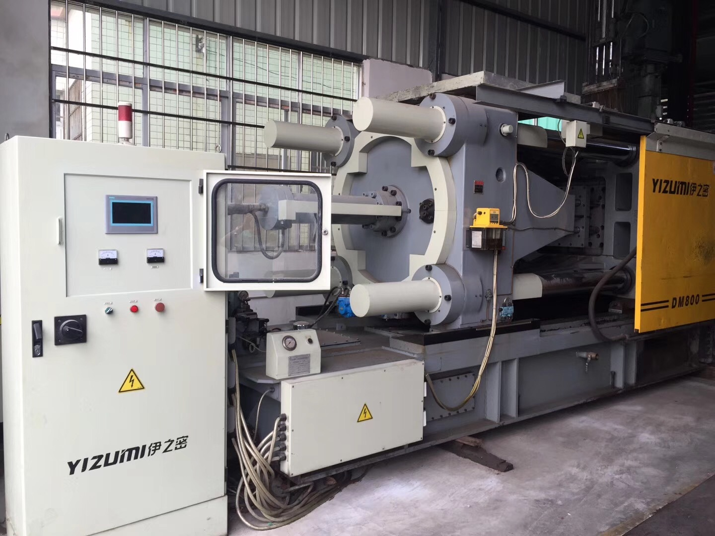 Used YIZUMI DC800T Cold Chamber Die Casting Machine