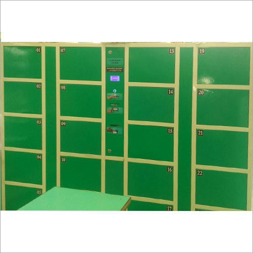 Industrial Biometric Store Locker