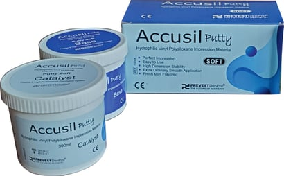 Accusil Putty Soft 300Ml Base And 300Ml Catalyst Certifications: Iso 13485