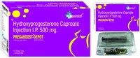 Hydroxyprogesterone Caproate IP250 mg/PREGABOOST-DEPOT-250